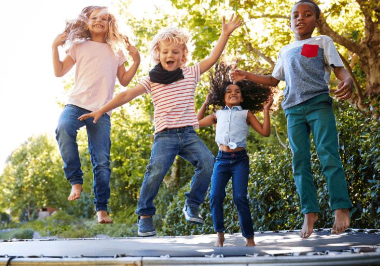 Trampolin – za djecu svih uzrasta